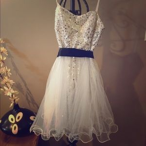 Homecoming, special event mini dress